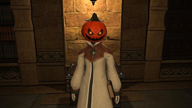 All Saints Day - Costume - Ripened Pumpkin Head