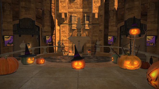 FFXIV - All Saints Day - Talking Pumpkin