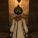 All Saints Day - Costume - Unripened Pumpkin Head