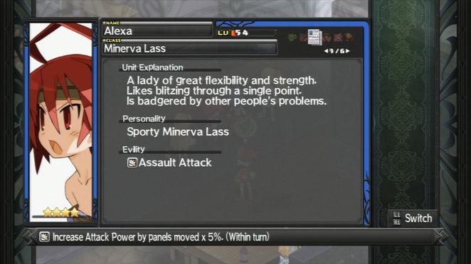 Alexa - Evility and Class Description