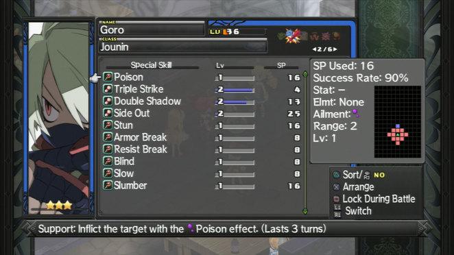 Goro - Skill List