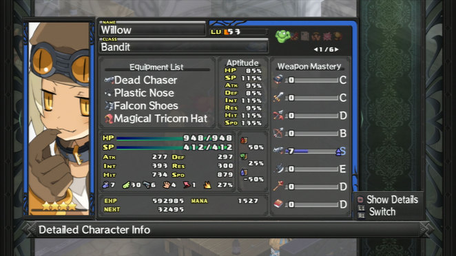 Willow - Detailed Unit Summary
