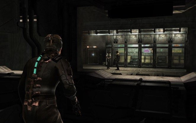 The very start of Dead Space