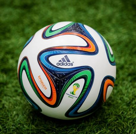 3959f881c So this is the match ball that will be used in the World Cup in Rio next  summer. It is called the Brazuca. What does everyone else think