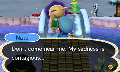 Animal Crossing Sadness