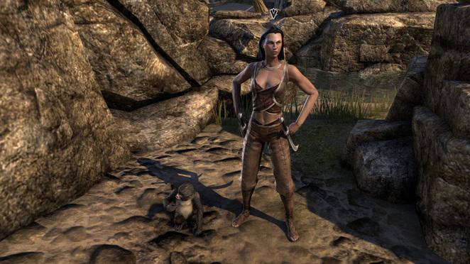 TESO - Crafty Lerisa in Seadrake Robes