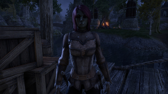TESO - Lokra the Orc (prettiest Orc ever)