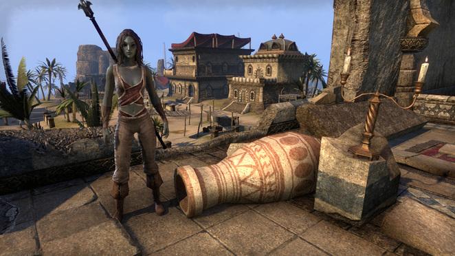 TESO - Shadia Shadewalker - LVL 9 - Seadrake Robes