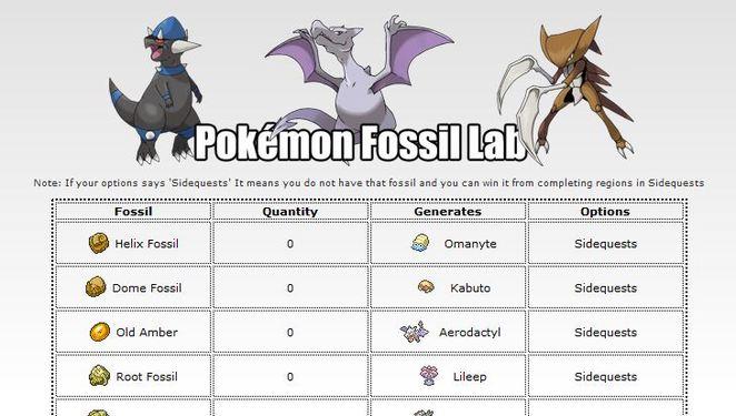Helix fossil evolution chart