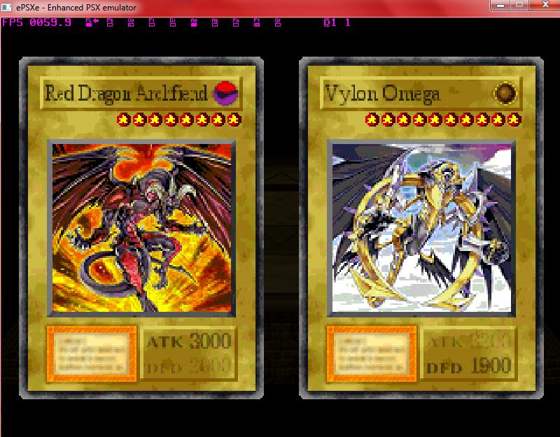 Save Game Yugioh Forbidden Memories Full Card Report