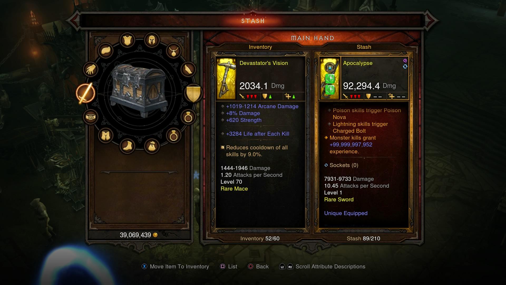 Diablo 3 Modded gear for DCUO trade or something else you offer