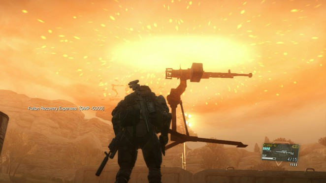 Wormhole Extraction Fun - Metal Gear Solid V: The Phantom