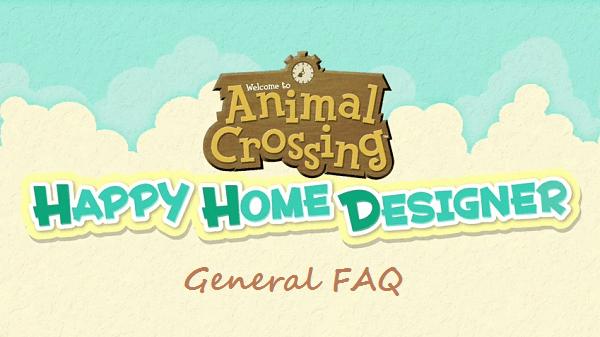 Animal Crossing: Happy Home Designer FAQ/Walkthrough v1.0 ... on