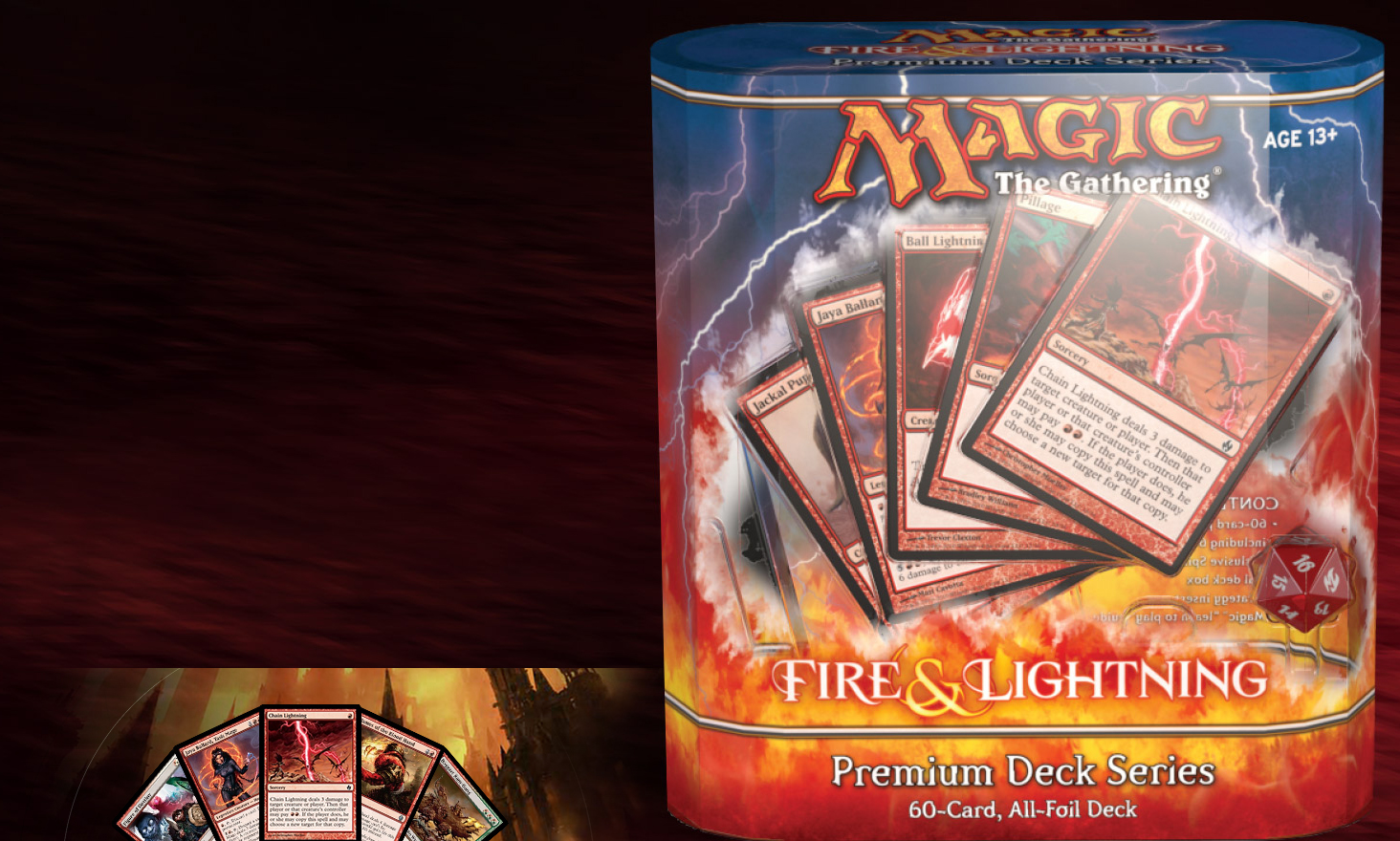premium deck series fire and lightning magic the gathering forum
