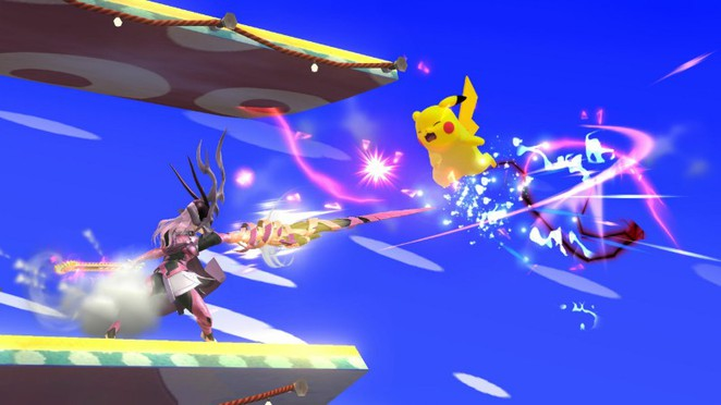Landing this against @Quixotic's Pikachu felt sooooo good.