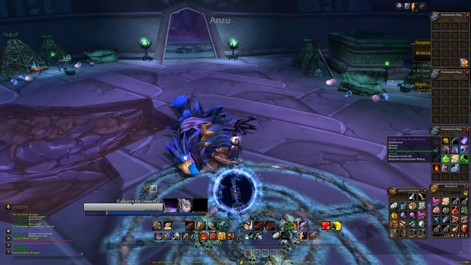 Finally got the Raven Lord mount!