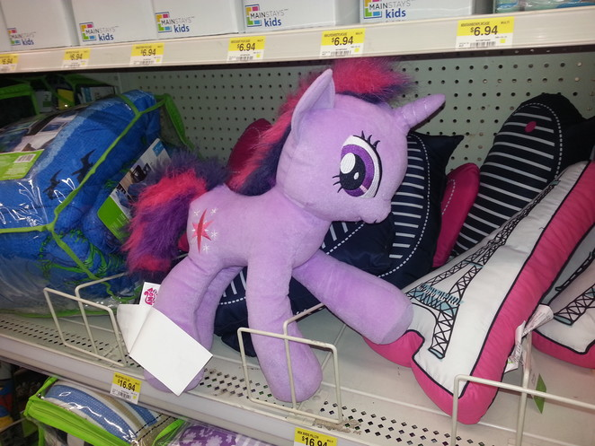 Twilight Sparkle in Wal-Mart