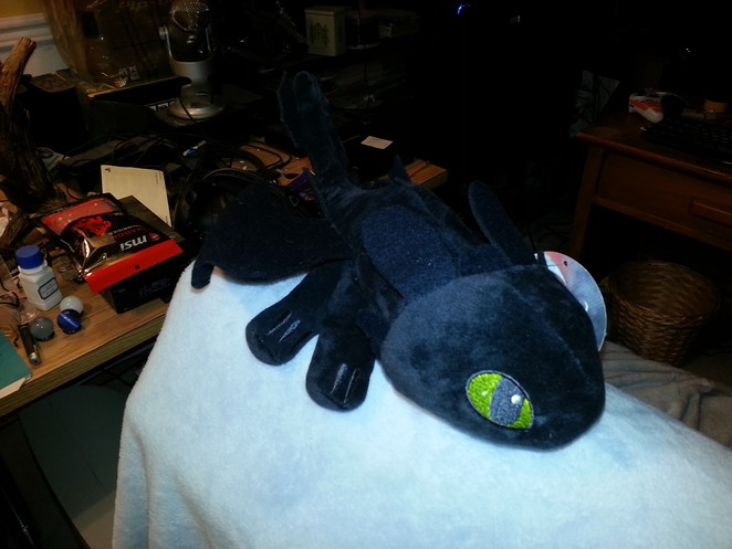 Toothless the Plush