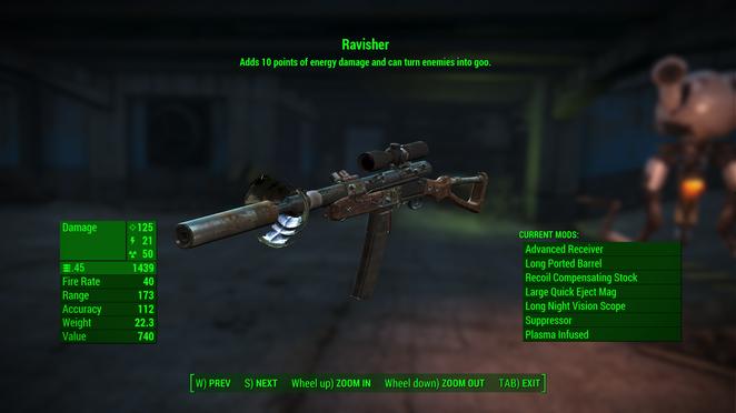 F4 - Lilith - Ravisher (Custom .45 Rifle)