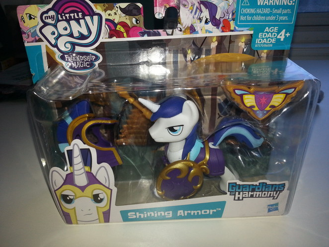 Guardians of Harmony - Shining Armor