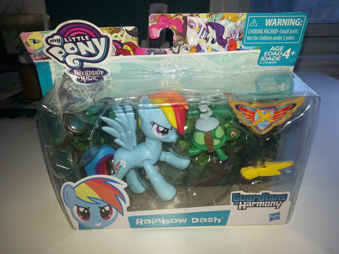 Guardians of Harmony - Rainbow Dash