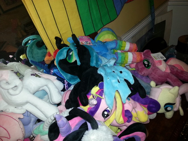 Chrysalis, Lord of Plushie - Embroidered Equines