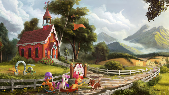 My Little Schoolhouse by Devinian (UHD)