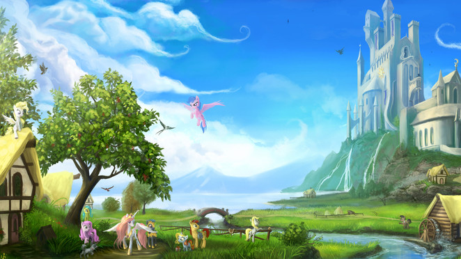 Once Upon a Time in Equestria by Devinian V2 (QHD)