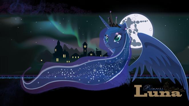 Princess Luna's Aurora by Devinian (QHD)