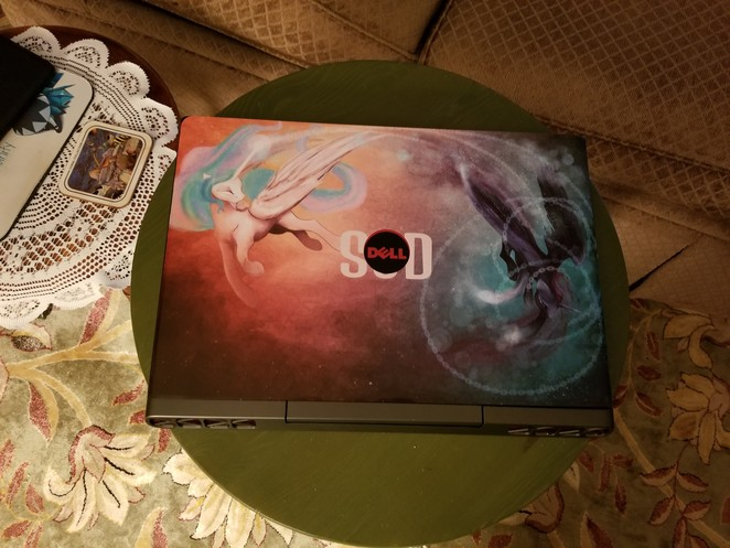 MLP Laptop Decal - Banished by CosmicUnicorn