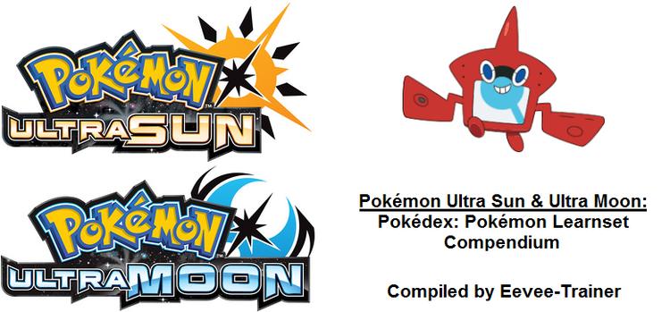 pokémon ultra sun moon pokédex pokémon learnset compendium v1 01