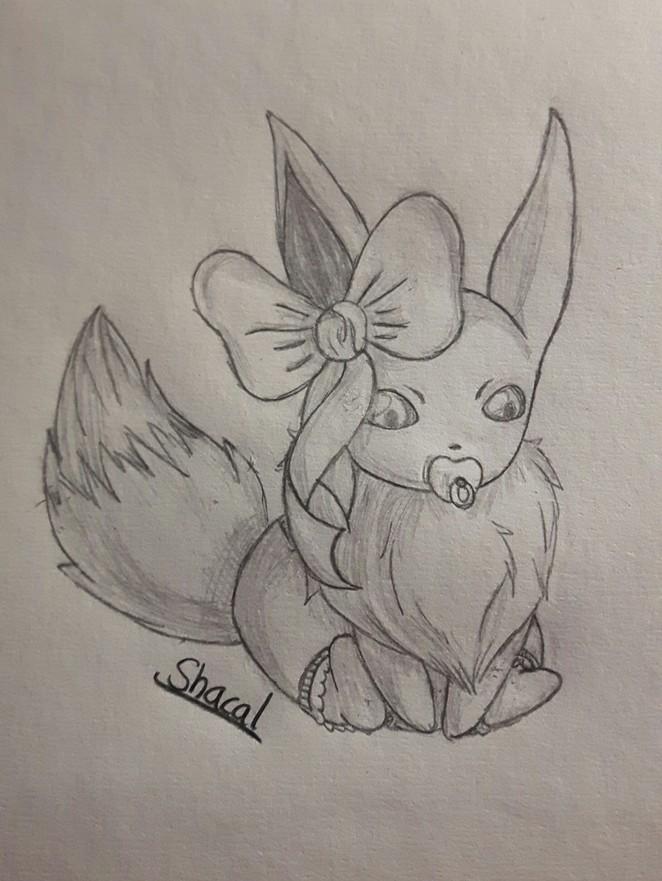 Baby Eevee ♡
