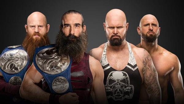 Bludgeon Brothers vs. Luke Gallows & Karl Anderson