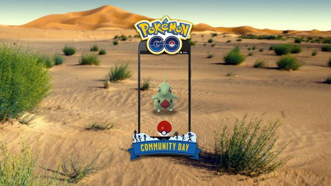 Larvitar Community Day June 16th