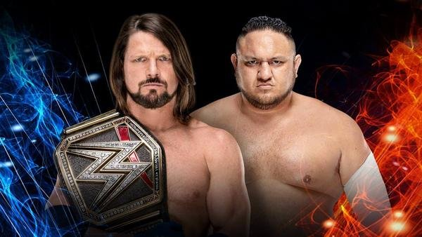 Aj Styles vs. Samoa Joe