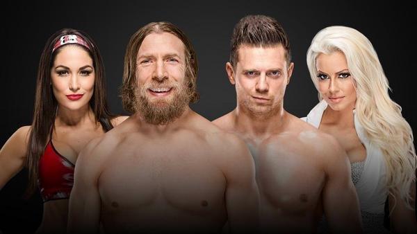 Daniel Bryan & Brie Bella vs. The Miz & Maryse