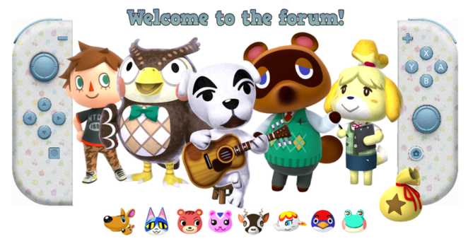 Header - Animal Crossing Switch from Kinetic - hosted by