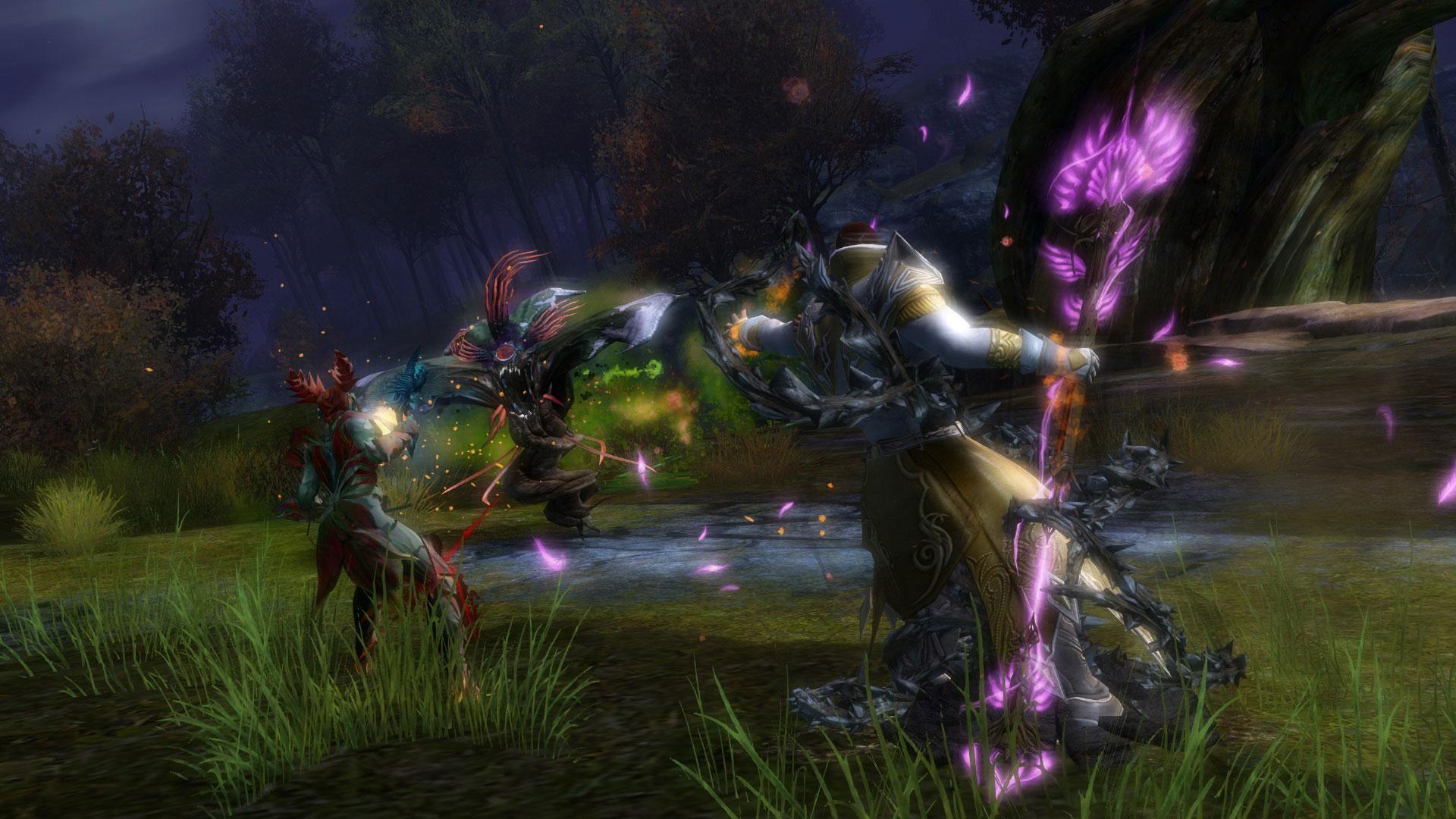 Игроки, которые приобрели guild wars 2: heart of thorns