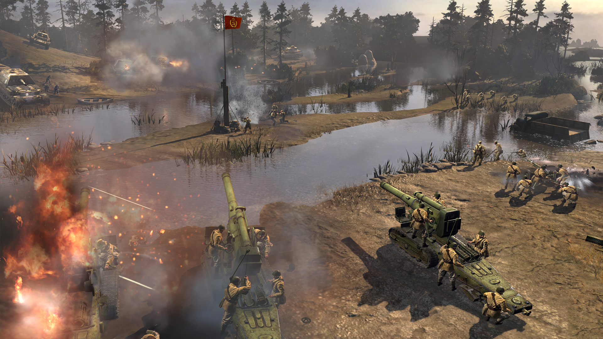 Company of heroes 2 launches turning point free update november 12 image 1 gumiabroncs Image collections