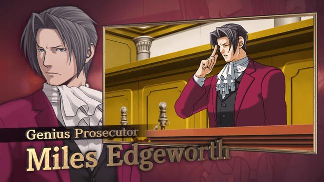 Phoenix Wright Ace Attorney Trilogy Brings Digital Edgeworth To