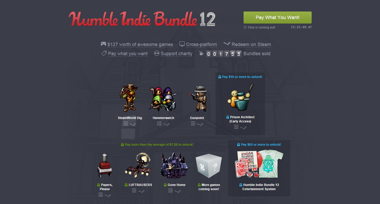 Humble Bundle Update: Humble Indie Bundle 12 Goes Live, Headlined By Papers