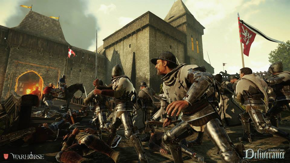 Kingdom Come: Deliverance reaches £300,000 Kickstarter goal, realistic medieval RPG