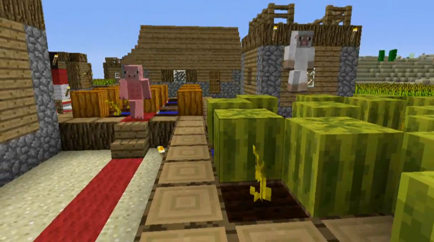 Minecraft xbox 360 edition gets creative mode drops survival aspects