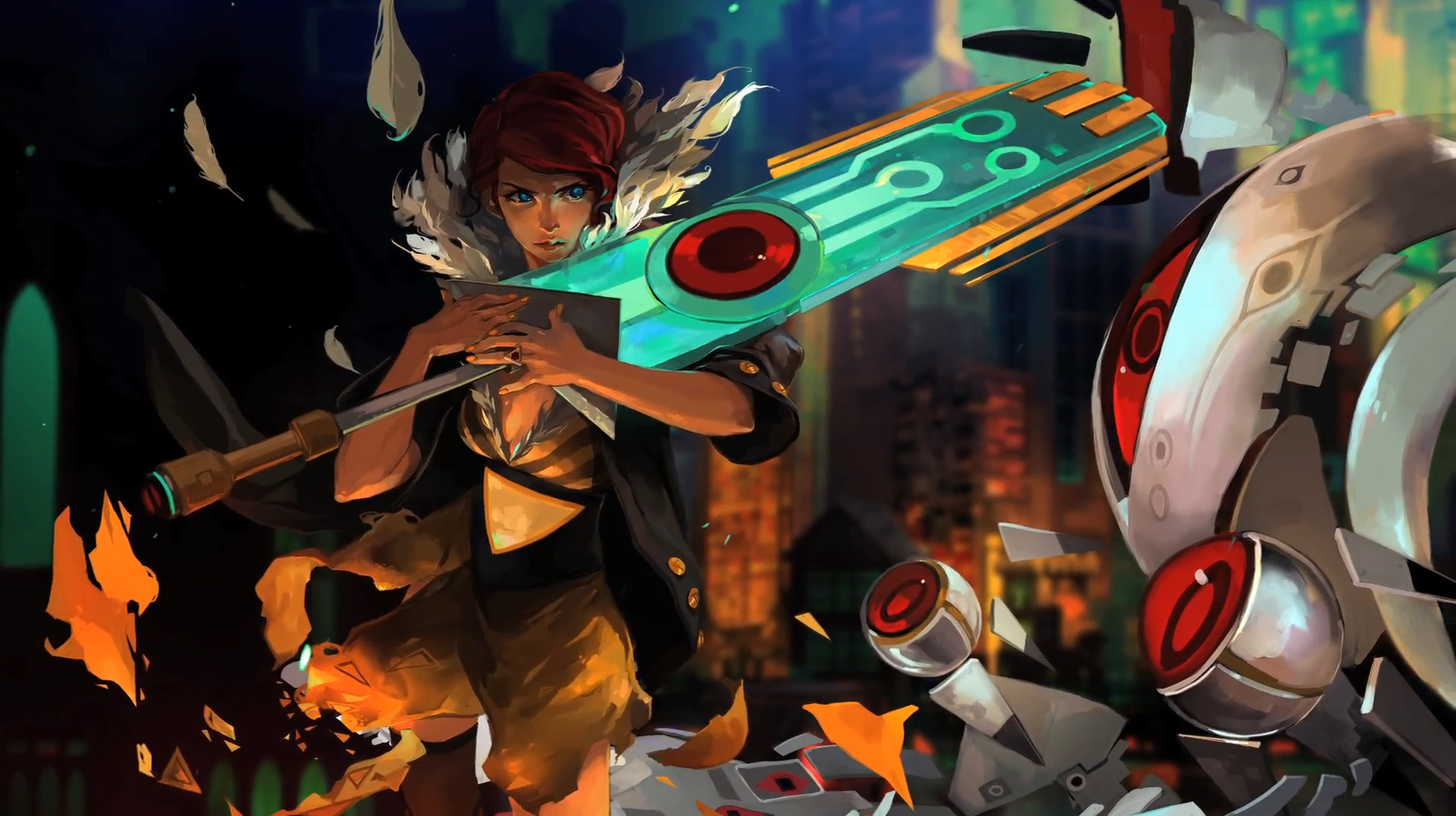 Supergiant Games' Transistor will feature Bastion narrator