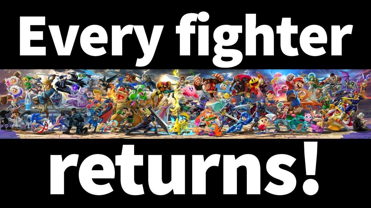 Nintendo Announces Super Smash Bros Ultimate For Switch