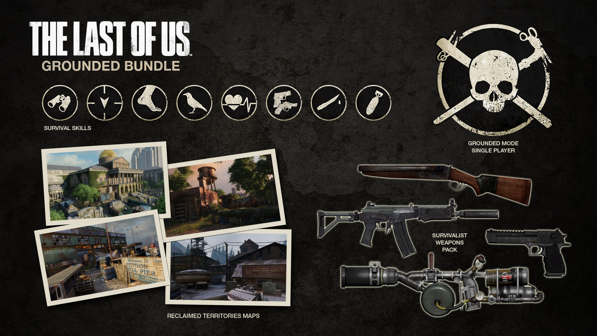 The Last Of Us Grounded Bundle DLC Adds Extreme Grounded Mode - Last of us all maps free