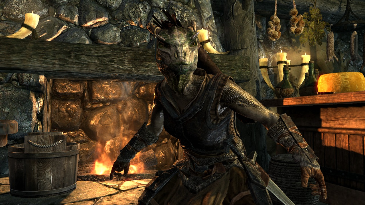 Elder Scrolls V Skyrim Screenshots Showcase Races Makeovers