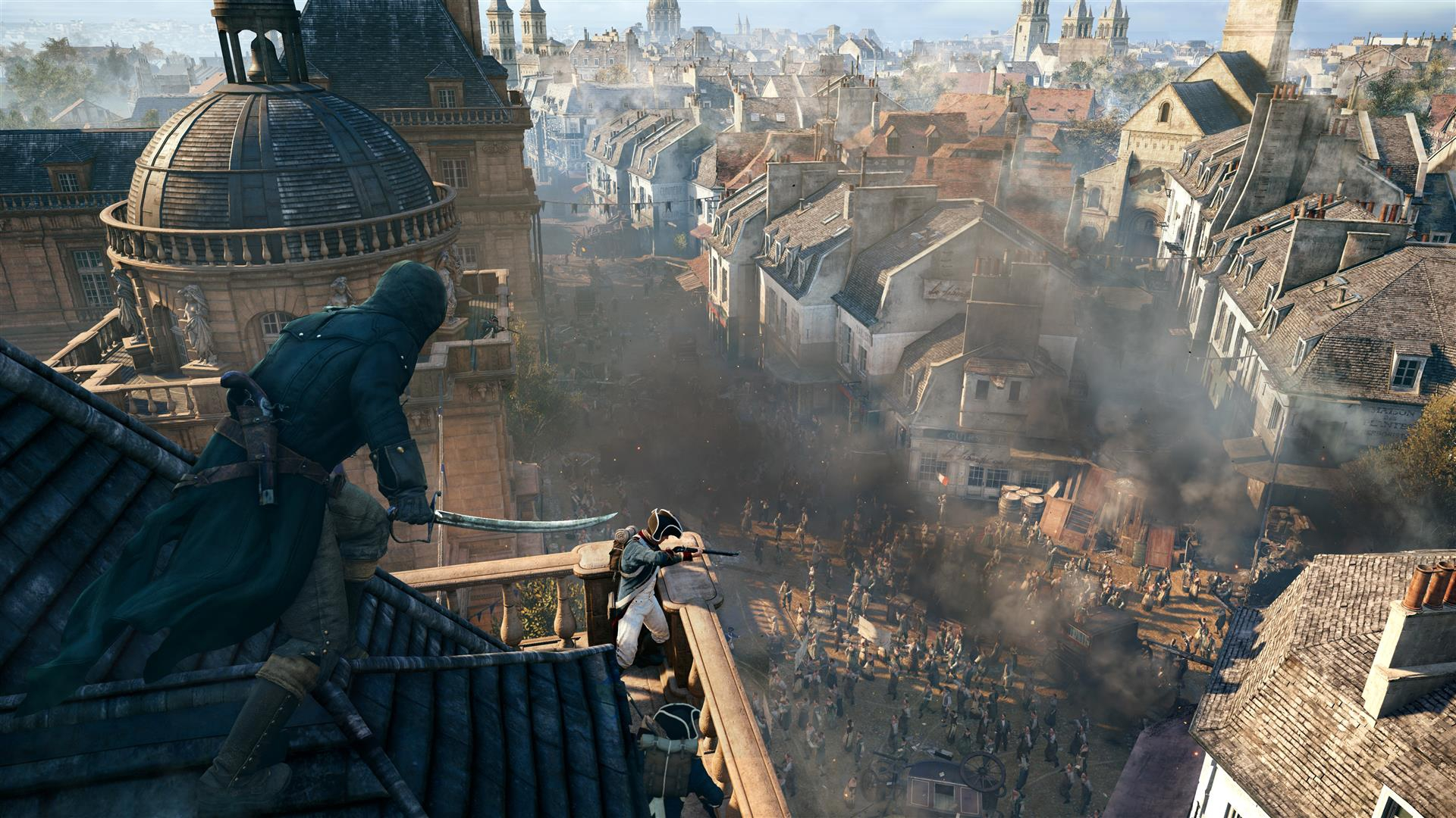 Assassin S Creed Unity Trailer Drops Arno Master Assassin And New
