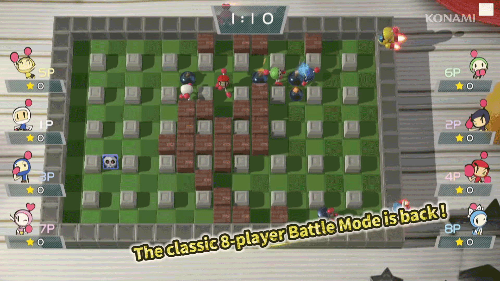 Bomberman Returns As Super R On Nintendo Switch This March Switchsuper Neoseeker