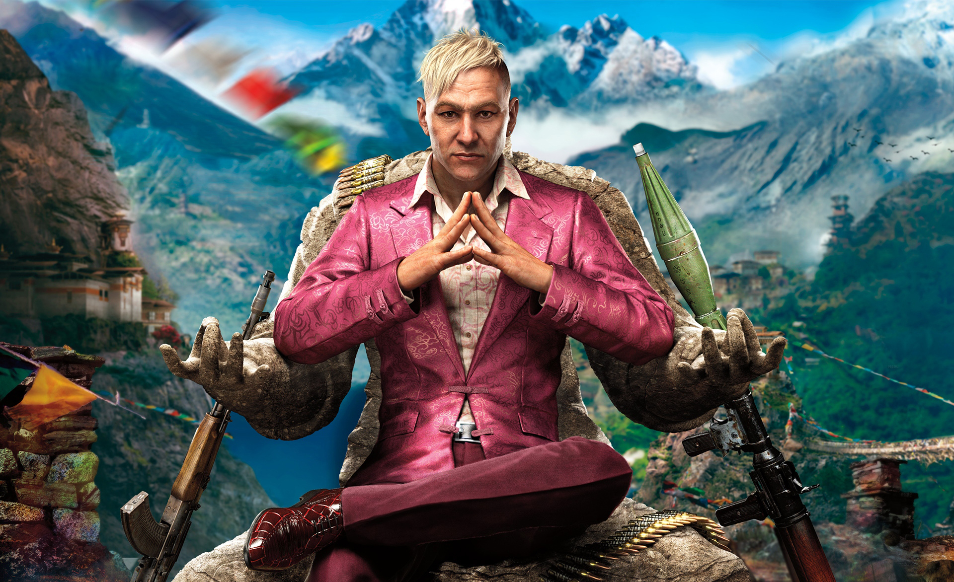 Far Cry 4 Antagonist Yuma Revealed With Close-up Art
